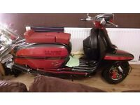 Lambretta gp 150 (sil) with imola kit dt tsr, af rims,targaline shocks,pacemaker box etc etc