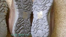 two pair mens shoes