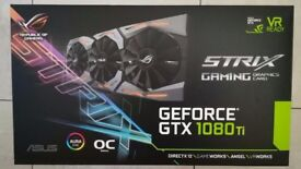 ASUS ROG Strix NVIDIA GeForce GTX 1080 Ti OC Edition