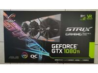 ASUS ROG Strix NVIDIA GeForce GTX 1080 Ti OC Edition