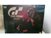 PS4 500GB jet black. Unopened.