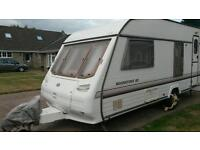 Sterling Eccles Moonstone SE touring caravan