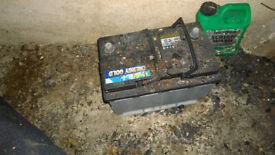 Scrap Metal Car Battery