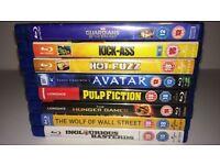 Blu Ray Bundle of 8
