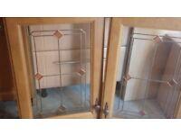 Solid Mahogany Kitchen Unit Doors