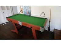 Mid Size Foldable Pool / Snooker Table £10 (£25 delivery)