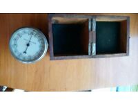 Aircraft Instrument Air Speed Indicator - Excellent Condition Woodcased