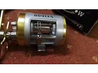multiplier fishing reel new unused