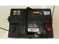 Brand new Halfords Lead Acid Car Battery, 56Ah, 12V