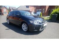 Lexus ct200h Advance 65 registration