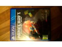 Minecraft for ps4 brand new and sealed