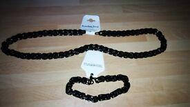 men's bracelet and chain