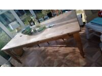 Lovely solid pine table