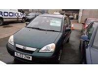 Suzuki Liana, 70000 Miles, Electric Windows, Radio/CD Player, Ideal family car.