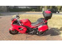 Motorcycle Triumph Sprint ST 1050 ABS