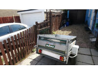 trailer for sale metal with suspention £70 LEES THAN PRICE OF A TYRE