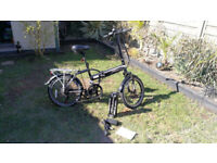 """Electric, FOLDING, Falcon Fuse bike, Alloy 20"""" wheels. Completed less than 30 miles. for sale  Southampton, Hampshire"""