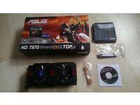 Asus Radeon R9 7970 DirectCU II HD7970-DC2T-3GD5 AMD Graphics Card - 3GB