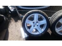 "17""peugeot alloy wheels"