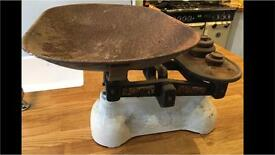 W.T Avery Vintage Kitchen Weighing Scales