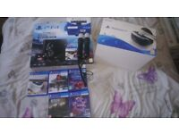 Limited edition star wars 1tb ps4 with ps vr plus extras