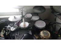 Alesis DM8 electronic drum kit with mesh heads