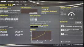 Intel i7-4790k 32G RAM Nvidia GTX 970 SSD+HD
