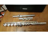 Yamaha silver plated 211 flute