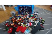 Lego - mixed 7.5kg box of a multitude of various pieces