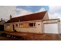 DETACHED BUNGALOW IN PRIME RESIDENTIAL AREA OF HUNTLY FOR IMMEDIATE RENT