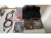 PlayStation 3 Slim 250GB Bundle (With 5 Games and Pads) EXCELLENT CONDITION