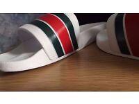 Gucci Slippers / Flip flops / Sliders WHITE