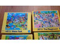 Kids Jigsaw puzzle bundle