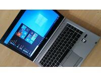 """WARRANTY fast 14"""" laptop HP Elitebook core i5 2.9GHz 8GB RAM 128GB SSD Windows 10 Pro MS Office"""