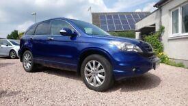 Honda CRV 2.2 CDTI Leather seats Reverse camera, SatNav, Parking sensors, panoramic roof, new towbar