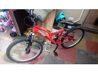 Trax tfs-24 bike