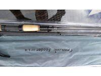 pro logic lm 11 foot feeder fishing rod looks unused stunning