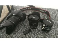 Canon 600D DSLR Camera , Canon EF-S 15-85mm f/3.5-5.6 IS USM , Canon EF-S 10-18mm f/4.5-5.6 IS STM