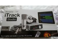 Focusrite iTrack Studio Recording Music, guitars, vocals Boxed Brand New