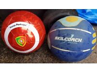 2 Balls (1 new & 1 used) COLLECT STOCKPORT