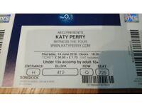 KATY Perry 3 Tickets