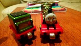 Percy take n play Thomas train metallic as new