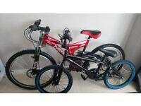 BMX (New Tyres) or Parto Mountain Bike (Disc Brakes, Full Suspension, New Tyres...)