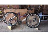 Pushbike for sale, brand new, unused and still in box with all parts ready to assemble.