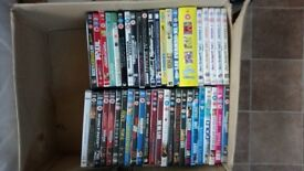 Mixed selection of dvds