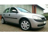 2003/03 VAUXHALL CORSA 1.2 ELEGANCE FULL SERVICE HISTORY IMMACULATE CONDITION