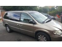 Chrysler grand voyager for quick sale. Gearbox faulty. For spares or repairs