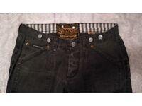 Superdry distressed denim jeans
