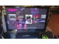 Pioneer 42 inch plasma nice tv a bargain built in freeview