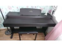 Yahama clavinova electric piano. In brilliant condition but needs new on switch. Comes with stool